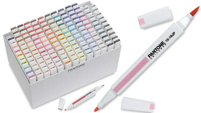Is It Wrong to Crave a Big Box of Dual-Ended Pantone Markers?