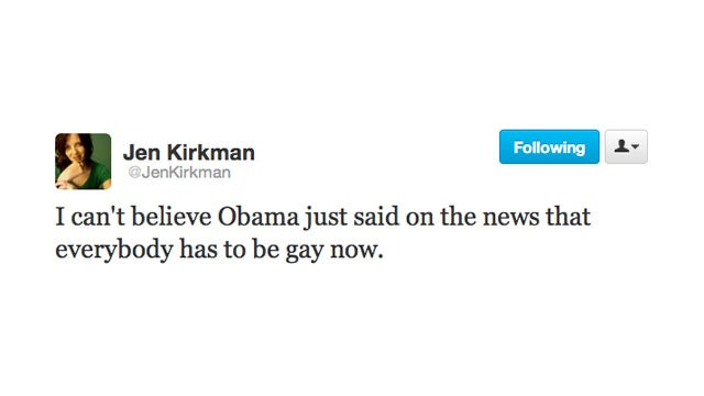Lena Dunham Offers the POTUS Her Hand In Gay Matrimony