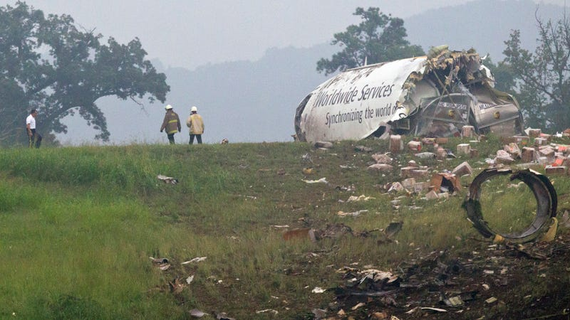 UPS Plane Crashes, Explodes At Alabama Airport [UPDATE]