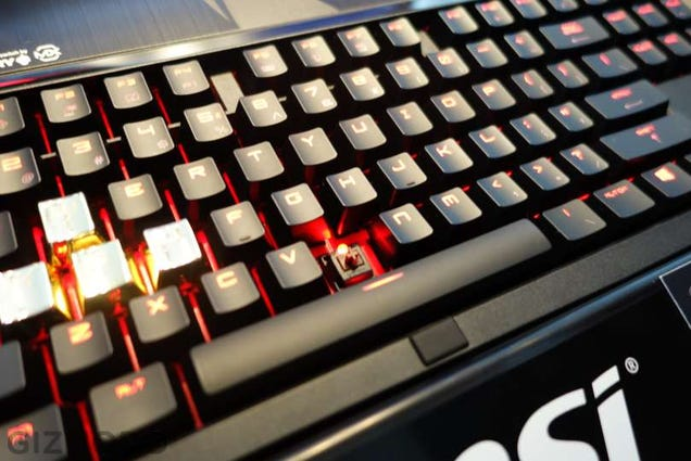 This Gaming Laptop With a Mechanical Keyboard Is So Gleefully Insane