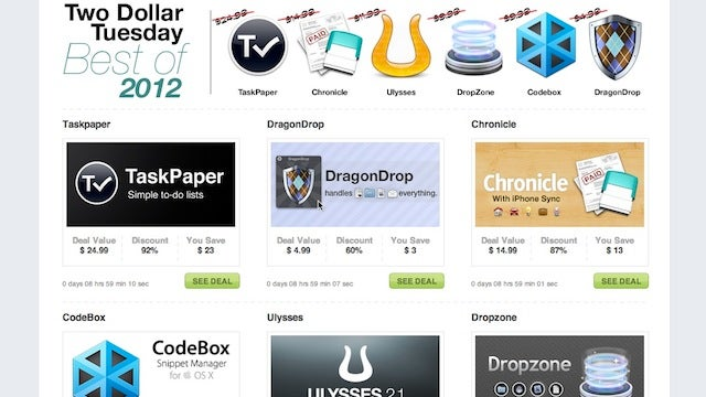 TaskPaper, Dropzone, and DragonDrop All on Sale for $1.99, Today Only