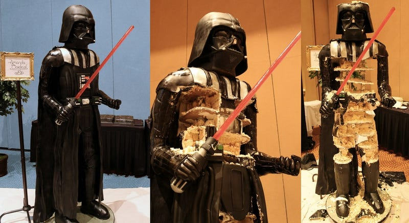This 500-pound Darth Vader cake could feed the entire Death Star