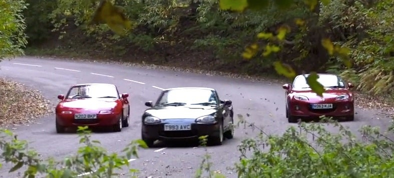 Meet The Cars That Helped Make The Mazda Miata So Very Great