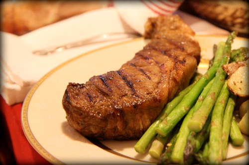 Re-Create a Fancy Steakhouse Dinner at Home On the Cheap