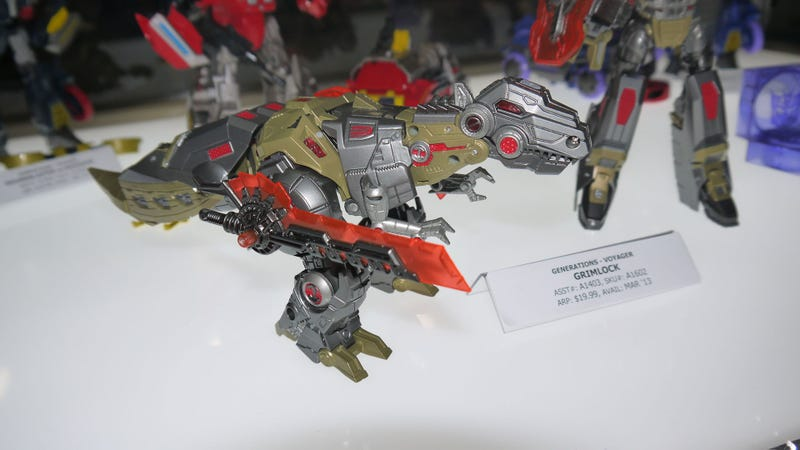 You Didn't Think Fall of Cybertron Would Come Out Without a Grimlock Toy, Did You?