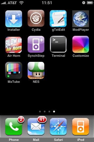 PwnageTool 2.0.2 Jailbreaks iPhone 2.0.1 Software