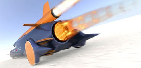 Rocket Car Will Hit 1000mph in 40 Seconds, Empty Bowels in About 5