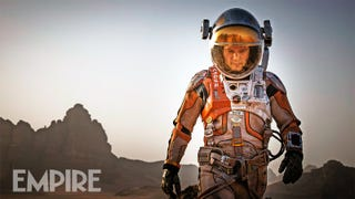 First Look At Matt Damon As <i>The Martian</i>
