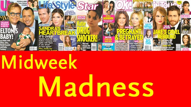 This Week In Tabloids: Katie Holmes Is An Addict