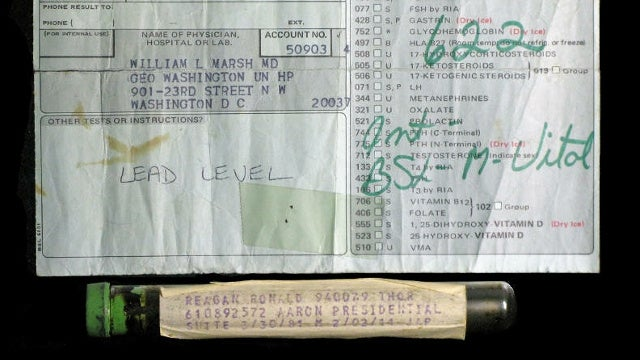 Reagan Blood Auction Called Off, Seller Will Donate Vial After All