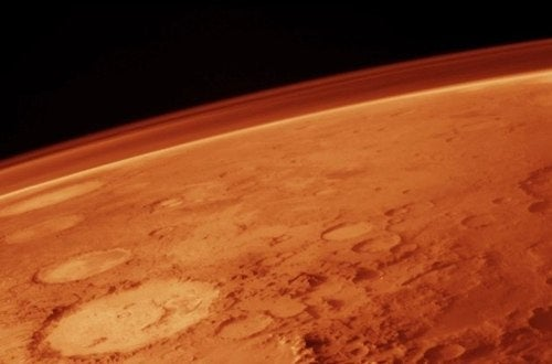 Life on Mars might actually come from Earth
