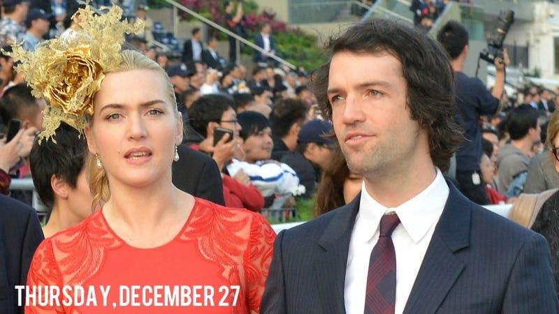 Kate Winslet Secretly Got Married Yesterday, Is Officially Mrs. Rocknroll