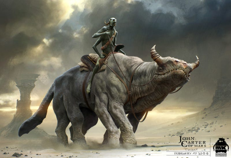 At Last, Some John Carter Concept Art That Can Compete With Frazetta