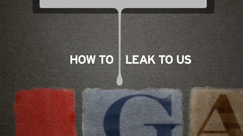 How to Leak to Gawker Without (Hopefully) Getting Caught