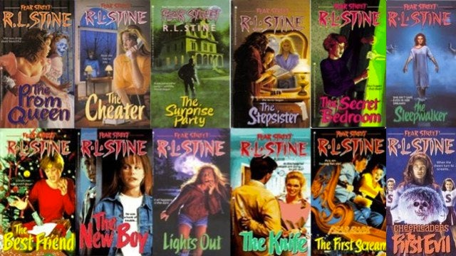 R.L. Stine publishes an entire horror story line-by-line on Twitter