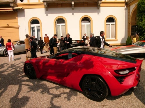 The $2 Million Showdown: Bertone Mantide vs. Corvette ZR1