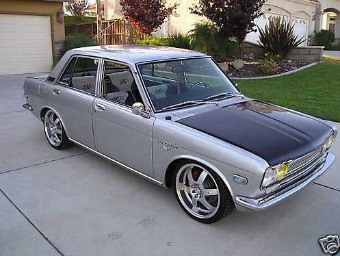 1971 Datsun 510 Showcar for $19,000!