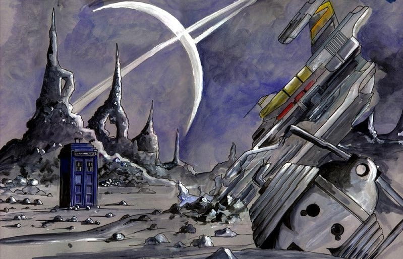 A New Doctor Who Movie, From the Director of the Harry Potter Films?