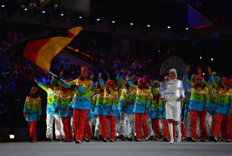 Check Out Everyone's Parade of Nations Uniforms