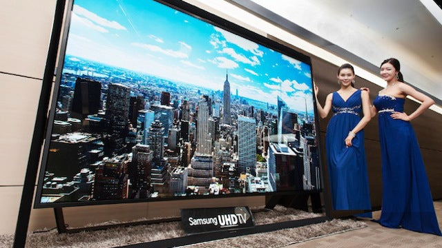This 110-Inch Monster Is the World's Largest Ultra HDTV