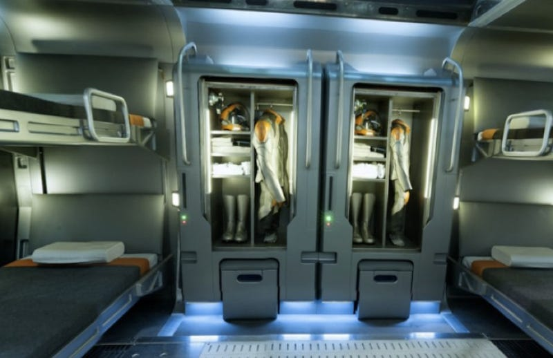 Step inside the Ender's Game Battle School with 360° set panoramas