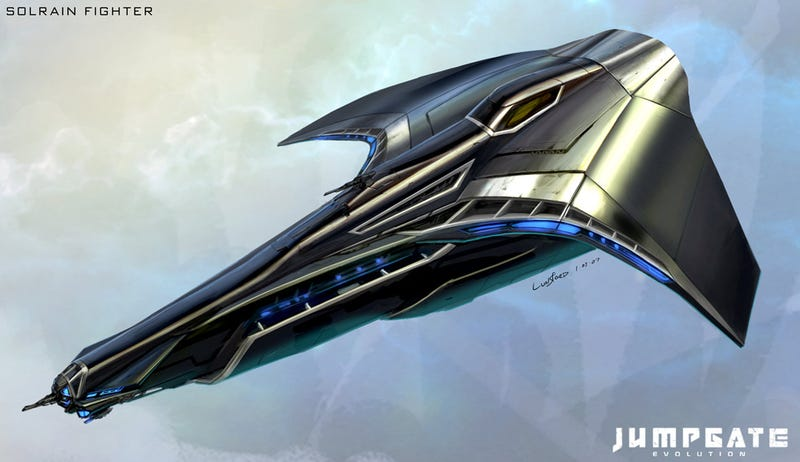 Spaceship Concept Art (Gallery 1)