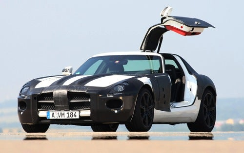 2010 Mercedes SLS AMG: Driven!
