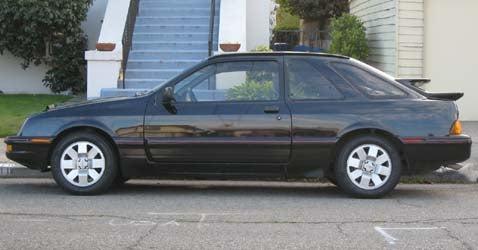 1987 Merkur XR4Ti