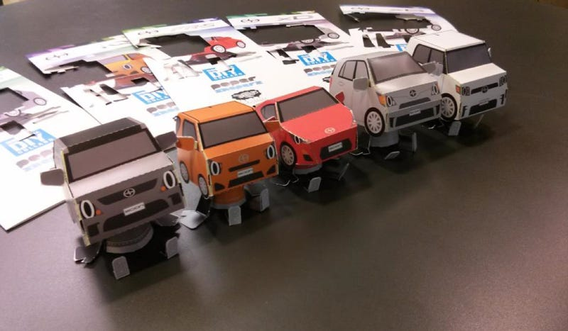 These Are The Adorable Little Mini-Scions You Can Make Out Of Paper
