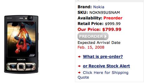 N95 8GB North American Version Coming Feb. 15?