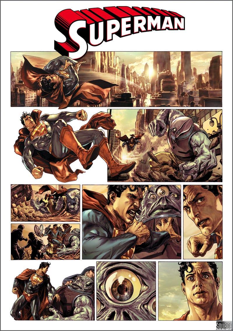 Superman, Batman Go Big, Not Home