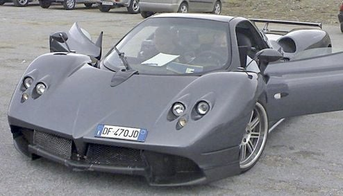 New V8-Powered Pagani Zonda Spotted Again?