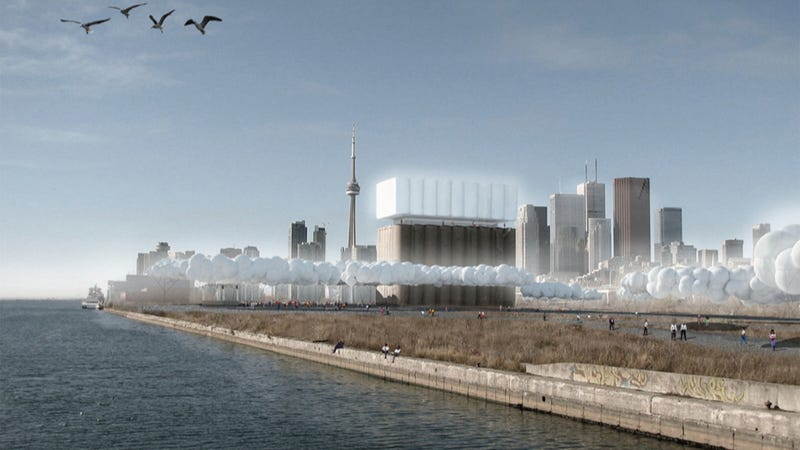 In 2015, the Toronto waterfront will be covered by hundreds of giant weather balloons