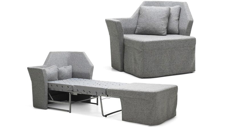 An Incredibly Tiny Sofa Bed For Your Skinniest Houseguests
