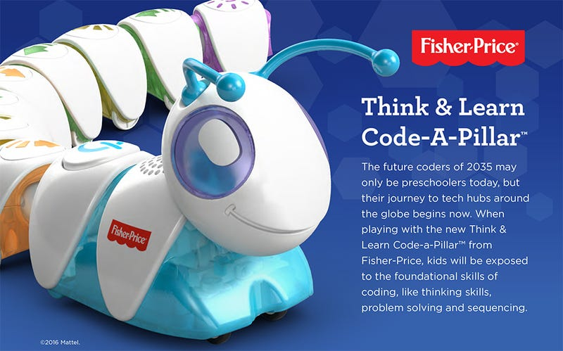 Fisher-Price Now Has a Toy That Teaches Preschoolers How to Code