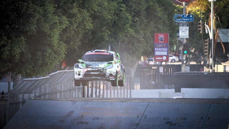 Ken Block Beat A WRC Champ In X-Games Qualifying