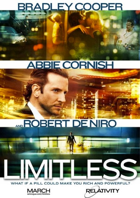 Swallow the first trailer for Limitless and get access to 100% of your brain