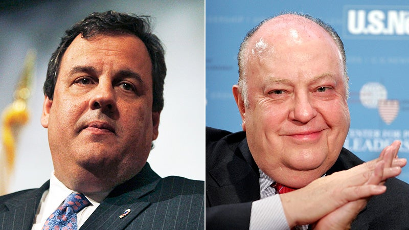 Gov. Chris Christie Claims Fox News Chief as Confidential Adviser