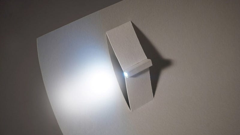 The Simplest Flashlight Is Just a Rolled Up Piece of Paper