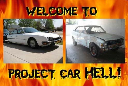 Project Car Hell, Non Compos Mentis Edition: Electric Colt or Citroën CX Pallas?