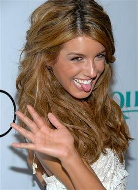 Move Over, Silver: Shenae Grimes Has Something to Blog About!