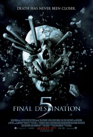 New Final Destination 5 poster