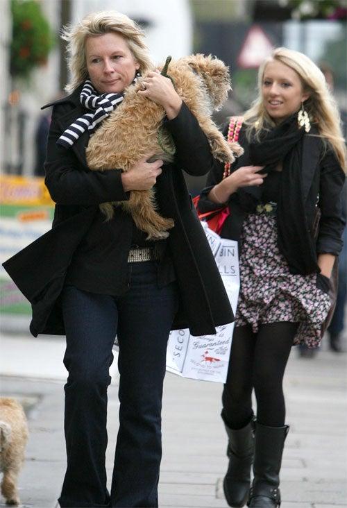 Jennifer Saunders's Dog Is Absolutely Fabulous