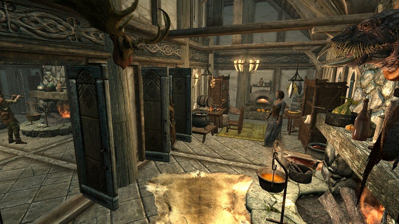 Hearthfire, Skyrim's New DLC, Is Now Available On Xbox Live