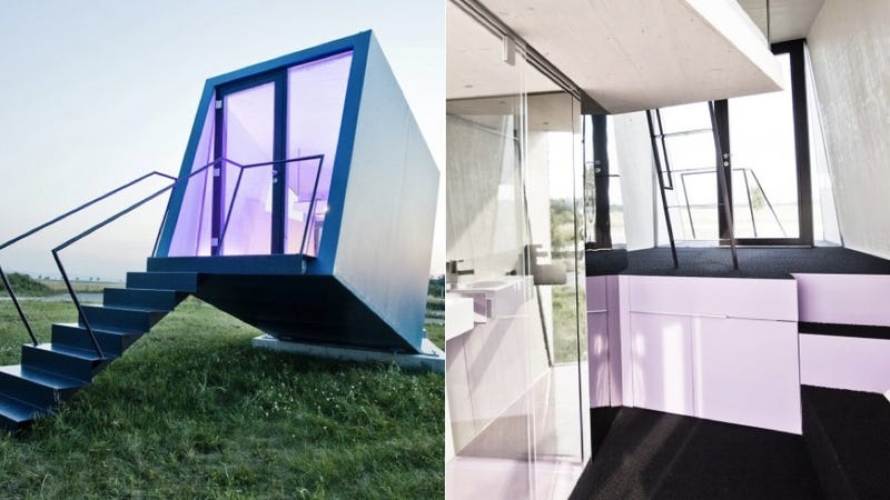 Tiny Hotel Hypercubus Is a Modular Dwelling for the Modern Traveler