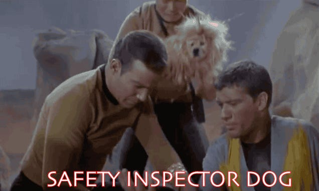Why aren't there more memes about Star Trek's Unicorn Dog?