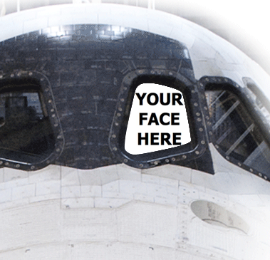 Send a Picture of Your Face to Outer Space