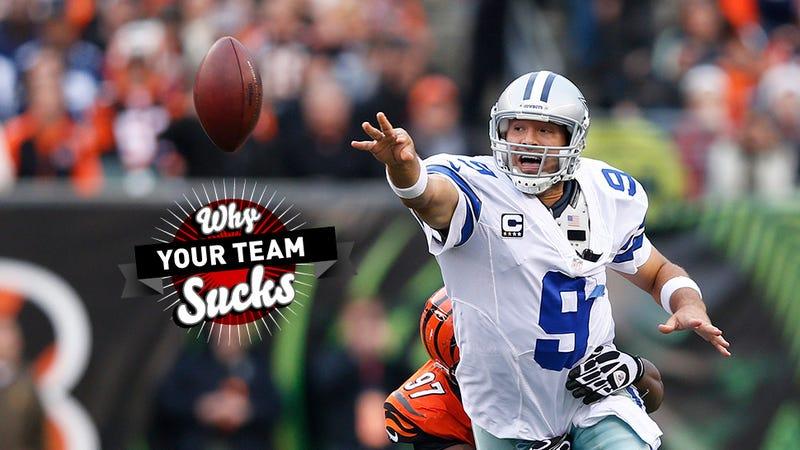 Why Your Team Sucks 2013: Dallas Cowboys