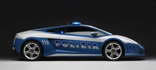 Polizei Lamborghini Gallery