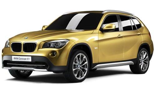 Official BMW X1 Concept Shots Drop Before Paris